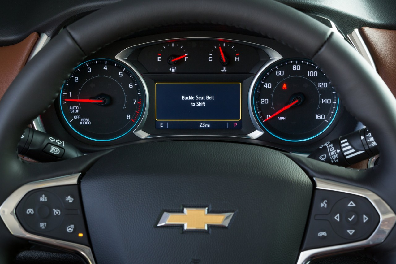 "Chevrolet Introduces Mandatory ""Buckle to Drive"" System"