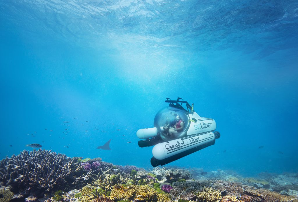 Uber Launches ScUber: World's First Submarine Ride Sharing Service