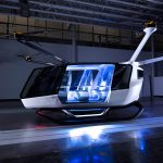 The World's First Hydrogen-powered flying car prototype unveiled in US