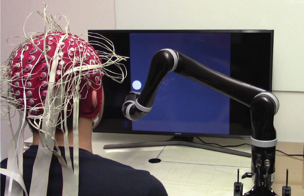 First-Ever Mind-Controlled Robot Arm Needs No Brain Implant