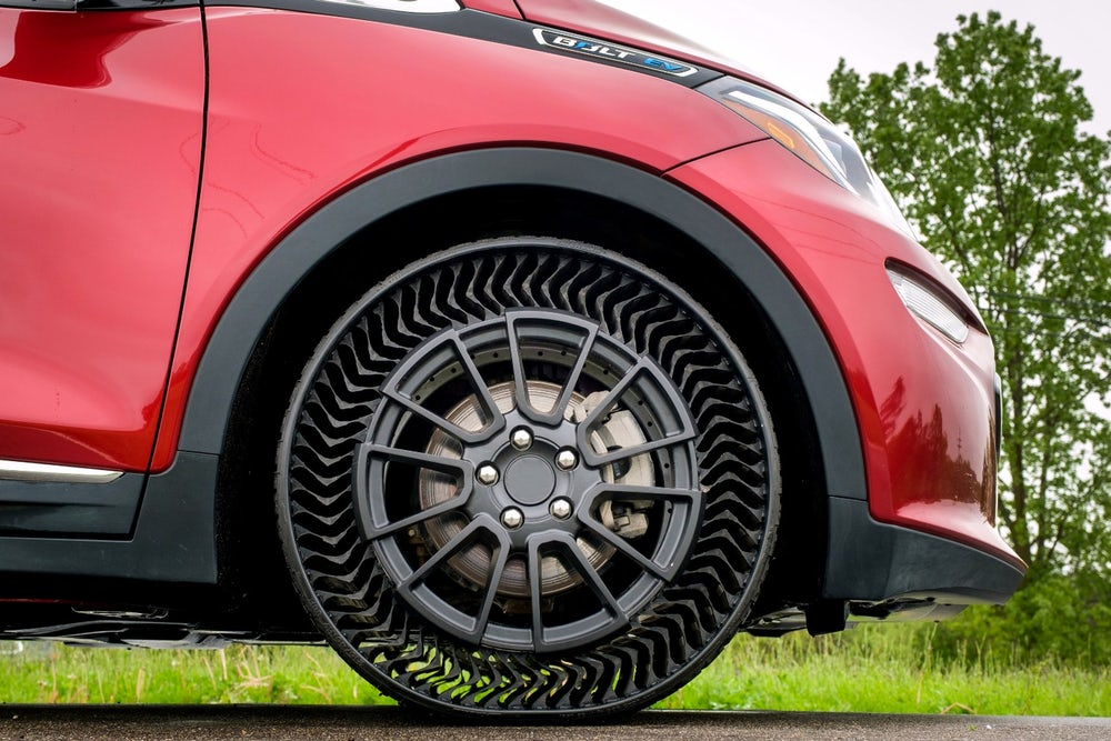 Uptis:  Puncture-Proof Airless Tires That Are Literally Indestructible