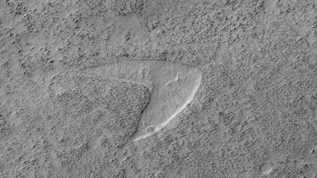 Star Trek 'Starfleet' logo spotted on Mars by NASA's spacecraft