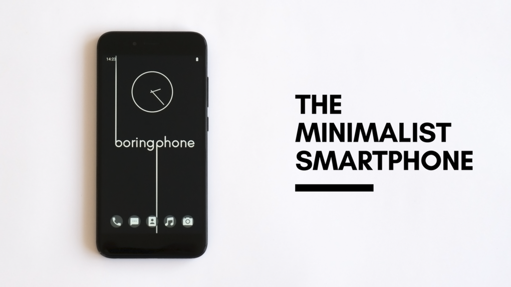 BoringPhone can save you from Smartphone Addiction