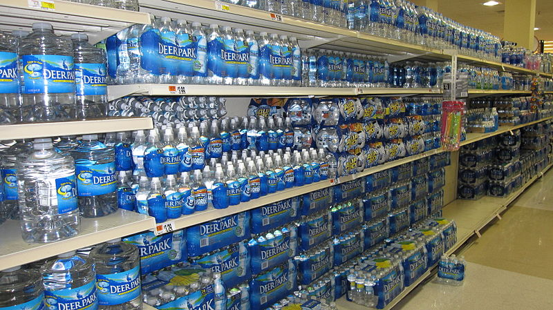 High Levels of Arsenic Found In Premium Bottled Water