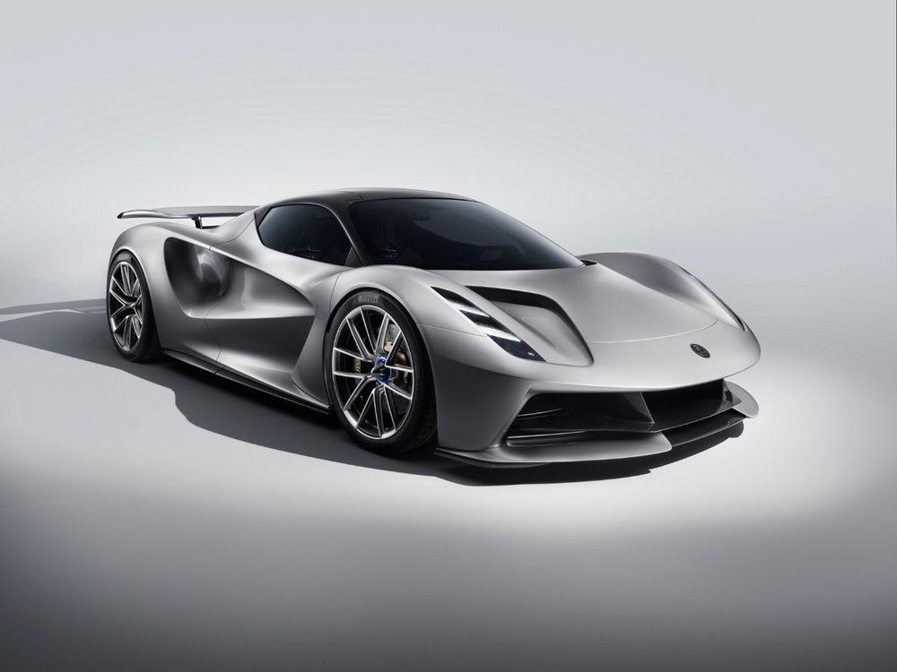 Lotus Unveils 2,000-Horsepower Lotus Evija -World's Most Powerful Production Car