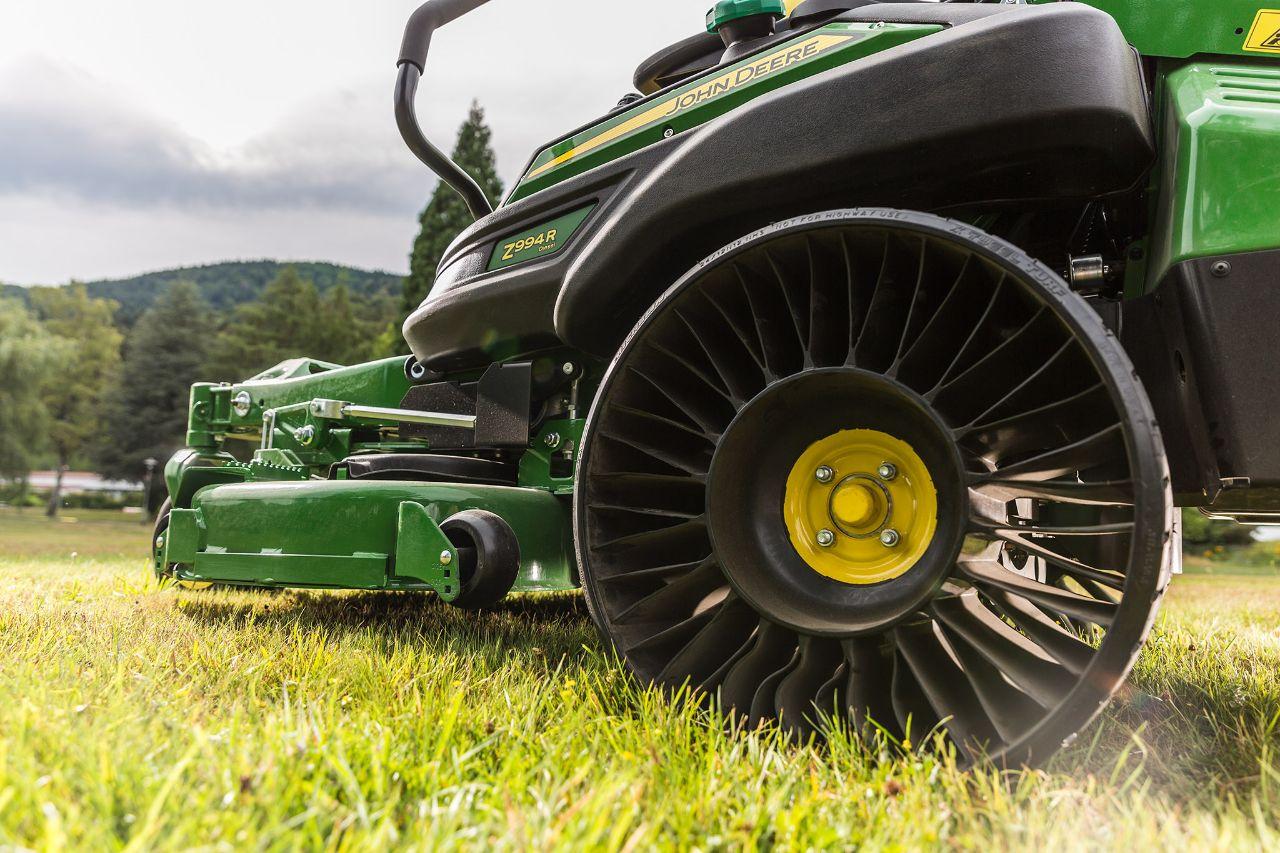 John Deere's Tweel: The Tire That Never Goes Flat