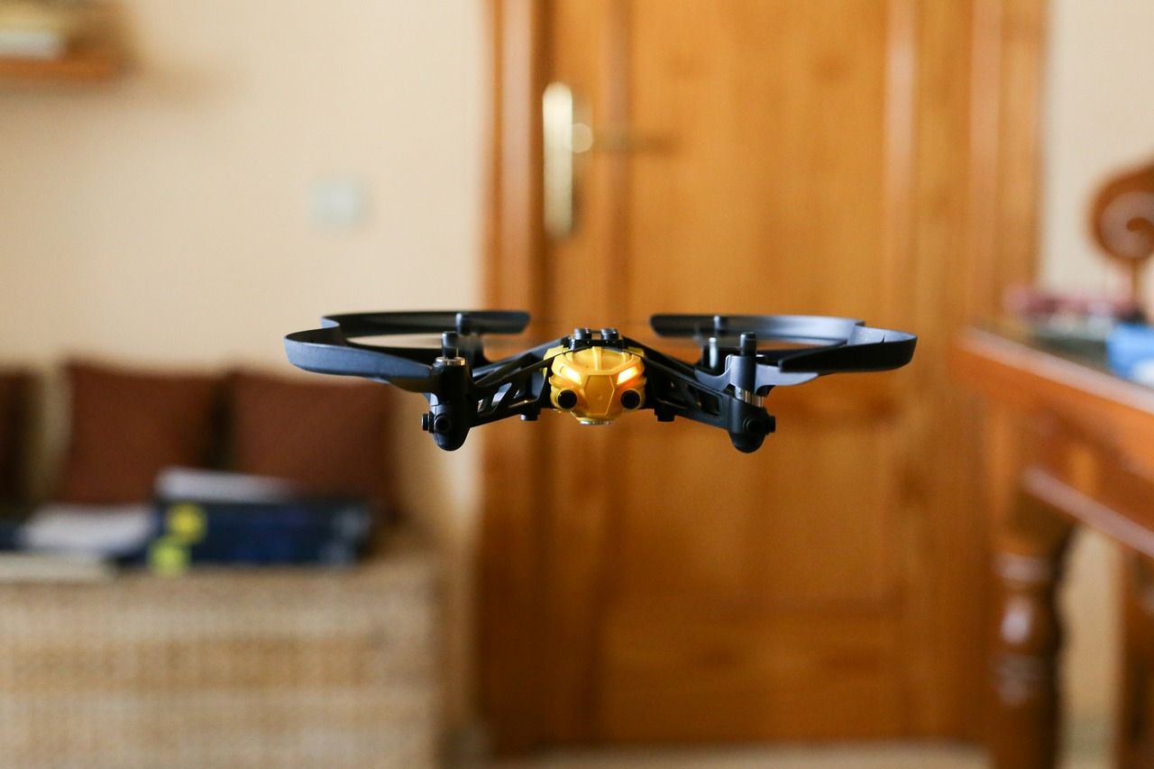 """Putting """"cat whiskers"""" on Small Drones to Avoid Collisions"""