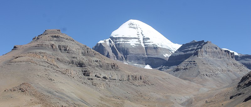 Mysterious Mount Kailash, is it a Giant Man-Made Pyramid by Some Superhuman Divine Being