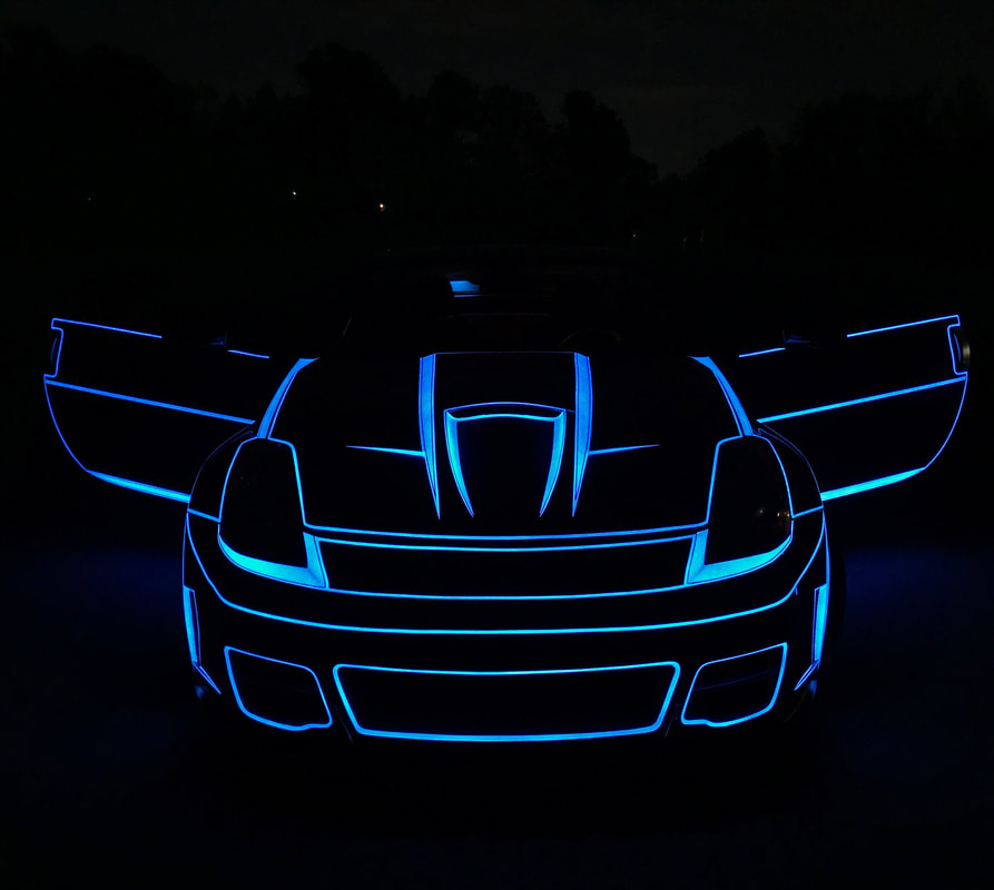 Car Paint That Lights up at the Flip of a Switch