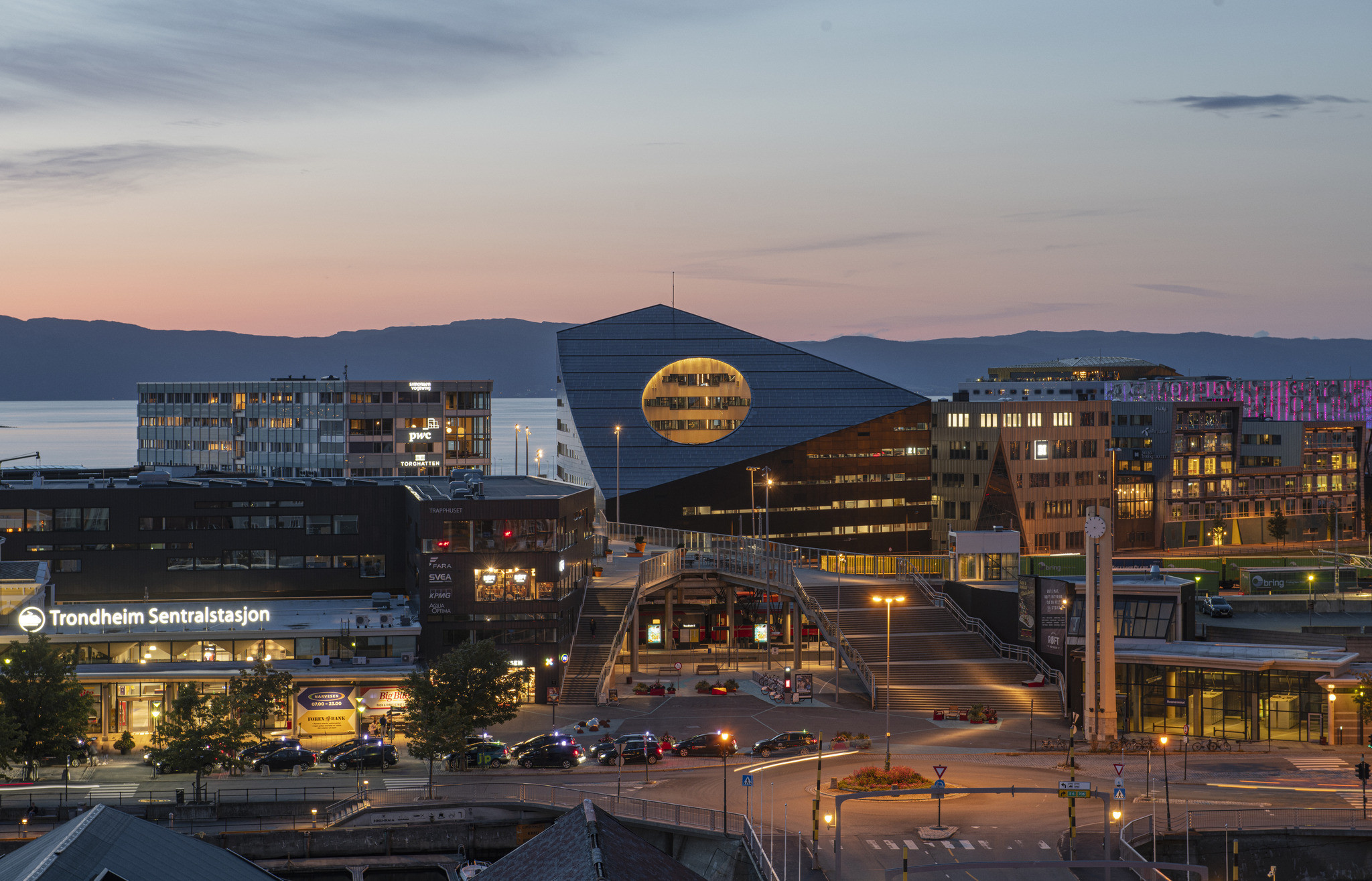 Powerhouse Brattørkaia is the Word's Northernmost 'Energy- Positive' Building