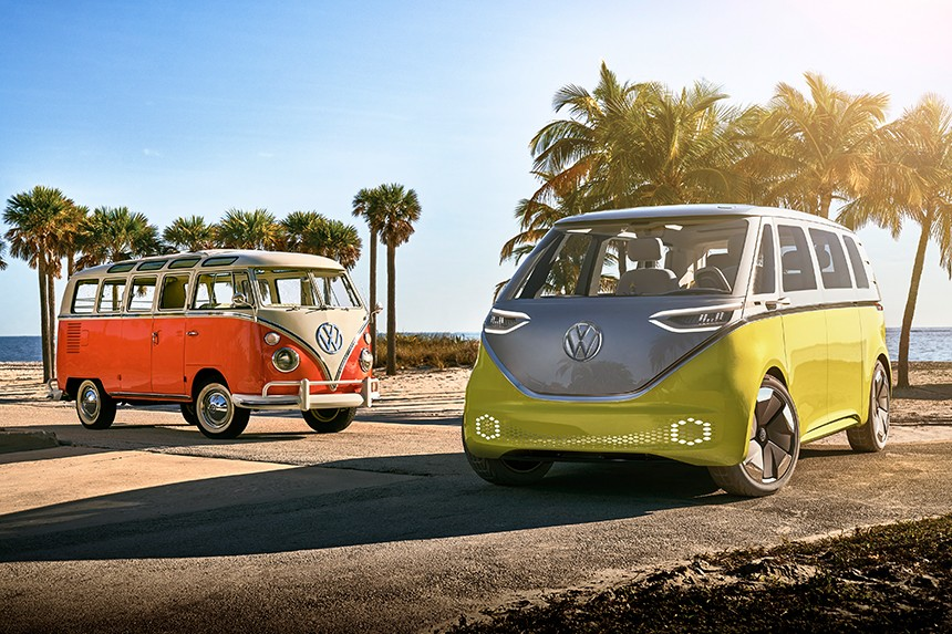 """A """"groovy"""" new Buzz from Volkswagen"""