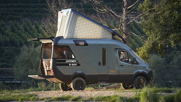 Someone Turned a Mercedes-Benz Sprinter Van Into a Luxury Tiny Home