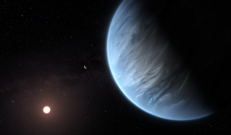 Water Vapor Detected On a Potentially Habitable Super-Earth for the First Time