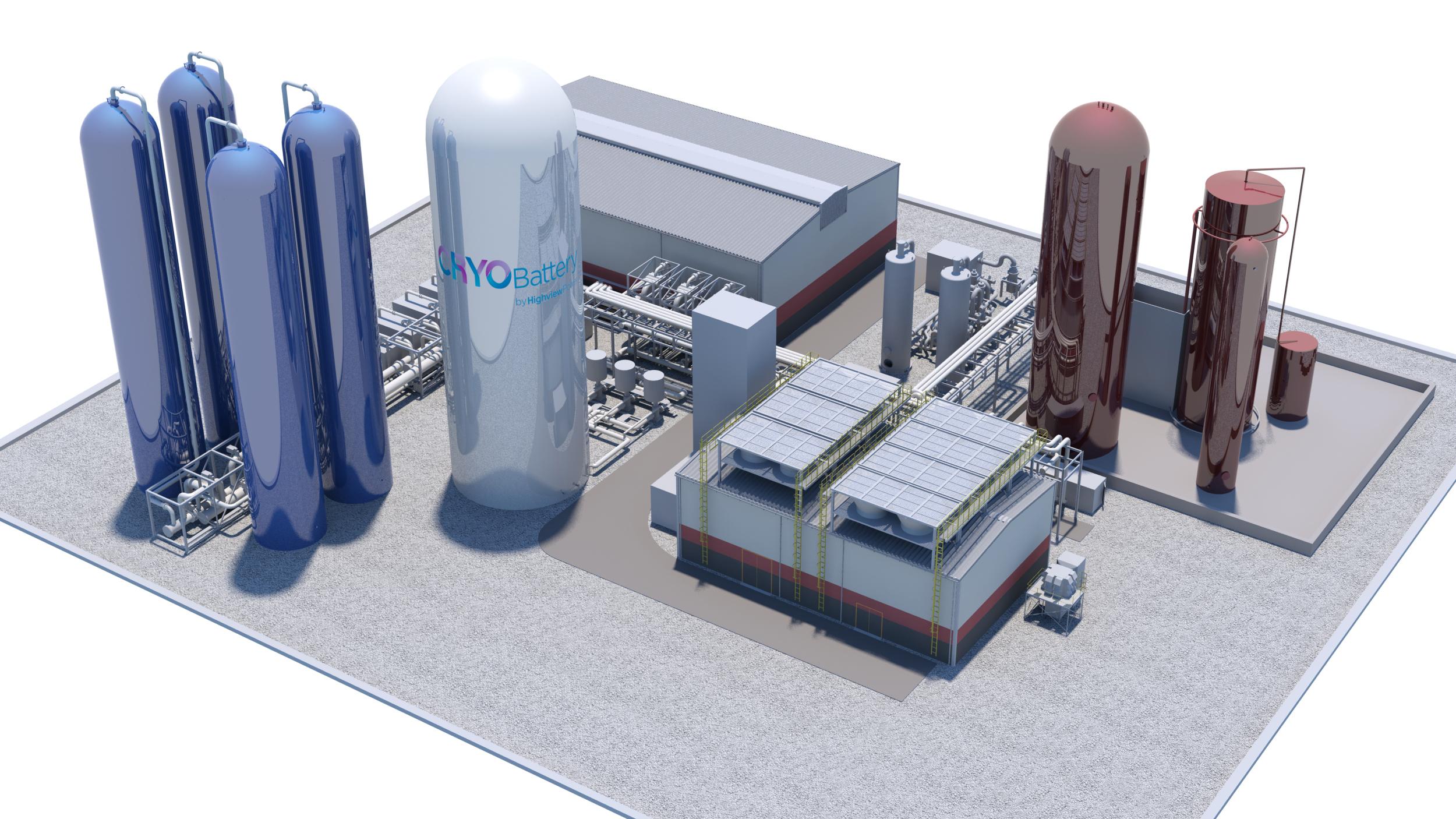 Highview Power to Build Massive Cryogenic Energy Storage Plant