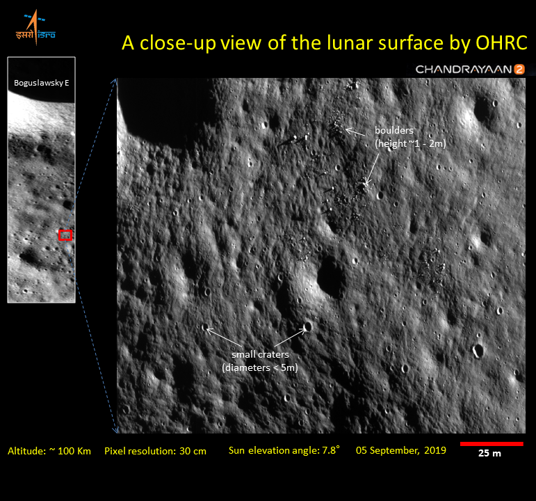 Chandrayaan-2 Probe Revealed Sharpest Images Ever Taken Of the Moon