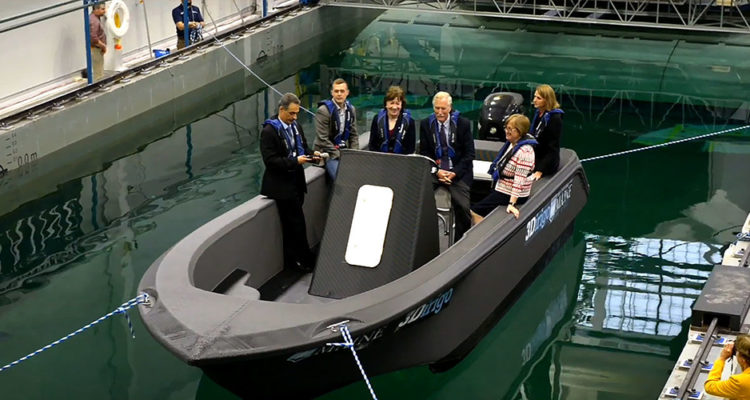 Watch World's Biggest 3D-Printer Making World's Biggest 3D-Printed Boat