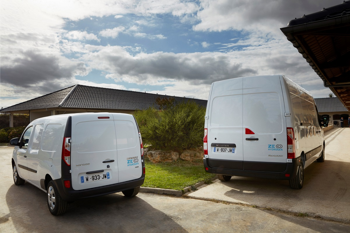 Renault Introduces Hydrogen Range Extender for Electric Vans