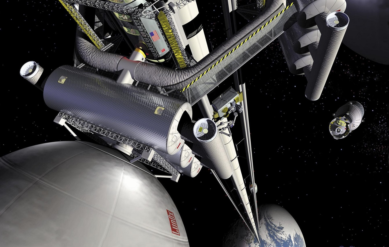An Elevator Could Connect Earth to Space – Here's How That Might Work