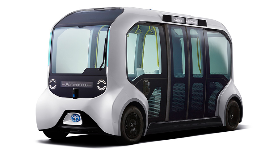 Toyota's Autonomous E-Palette Vehicles To Transport Athletes At Tokyo 2020 Olympics
