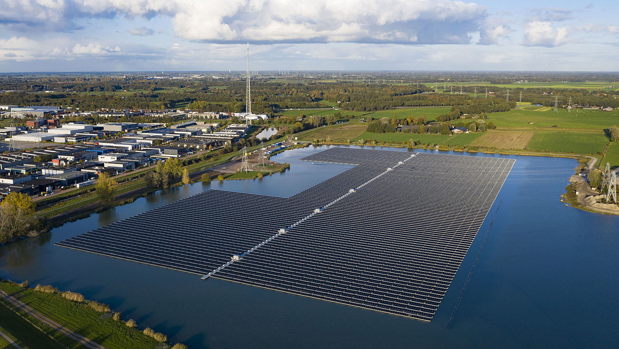 BayWa Commissions Floating PV Park in the Netherlands