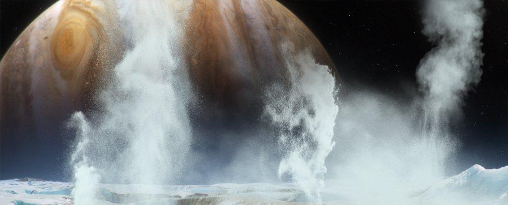 NASA Confirms Water Plumes above the Surface of Jupiter's Moon Europa