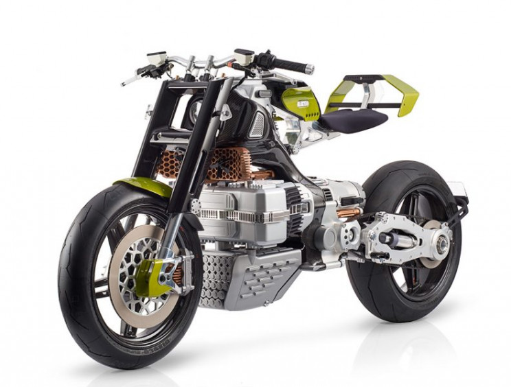 Futuristic Blackstone Hypertek Electric Motorcycle Unveiled At $80,000