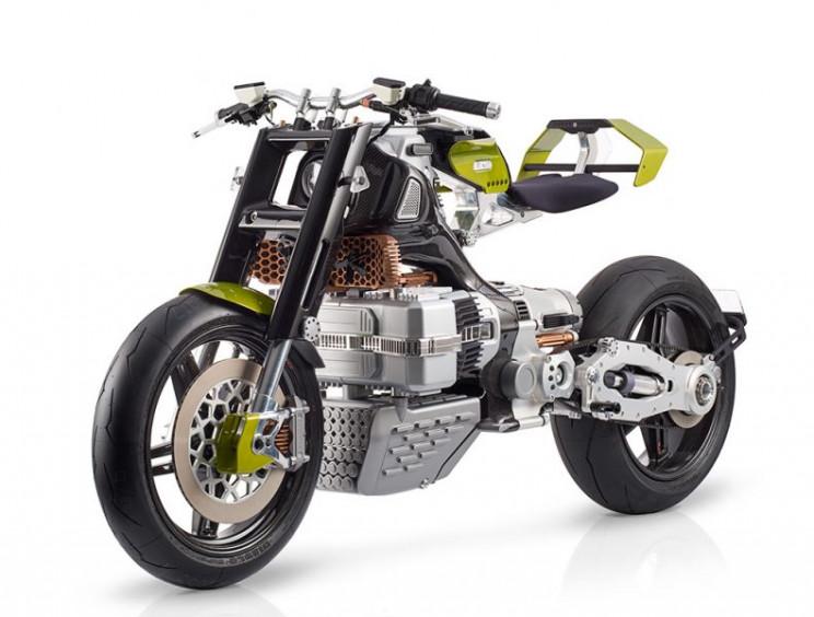 Futuristic Blackstone Hypertek Electric Motorcycle Unveiled At $80,000