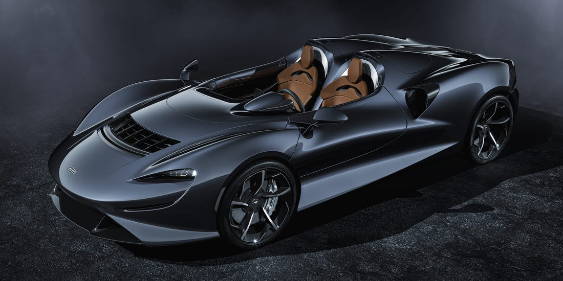 Mclaren Unveils $1.7 Million Futuristic Super Car with No Roof and Windshield Made Of Air