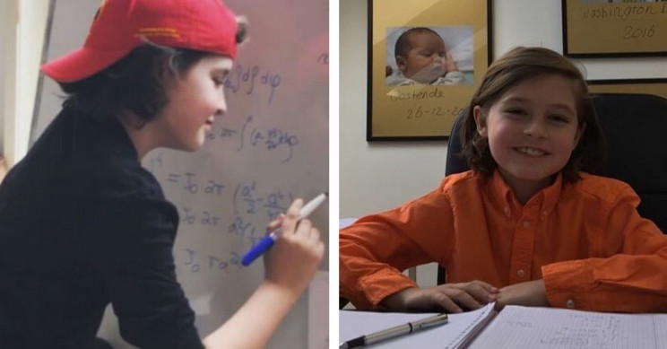 9-Year-Old Child Genius is About to Get a Bachelor's Degree Next Month