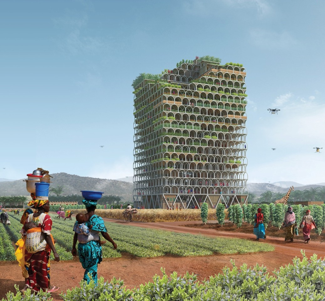This Incredible Skyscraper could feed an Entire African Town