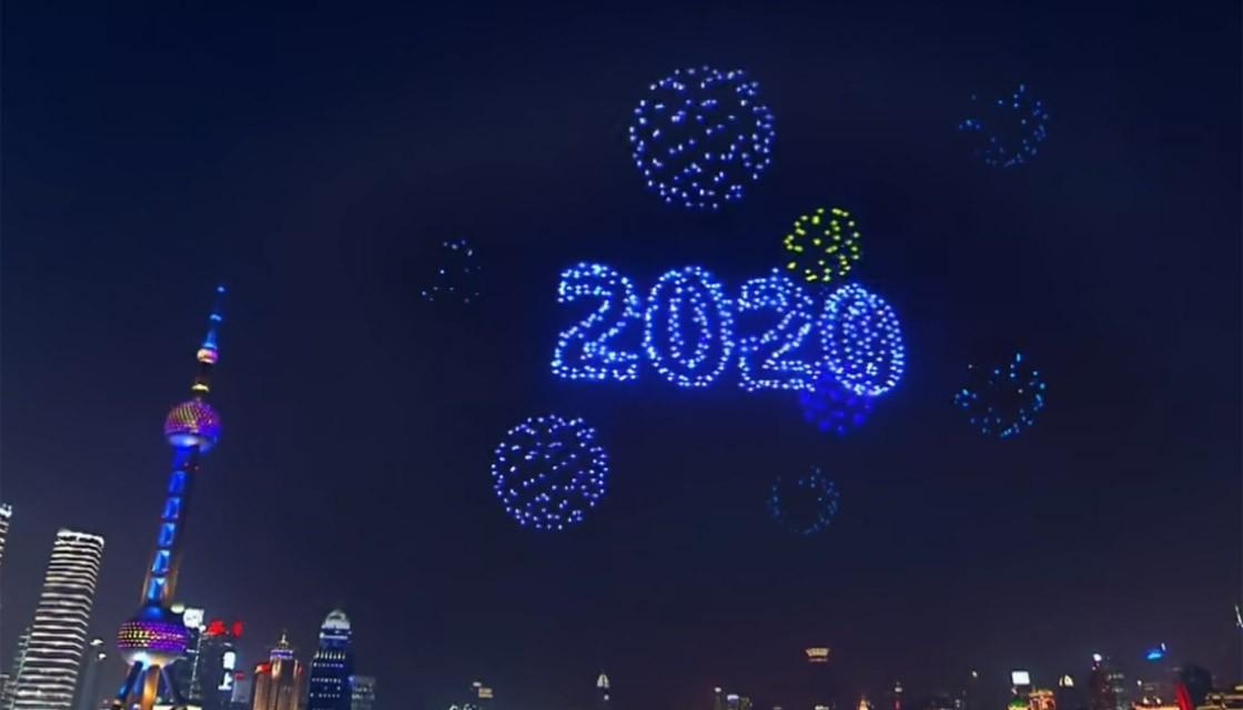 Thousands of Drones Fill Skies in China for a Stunning Display