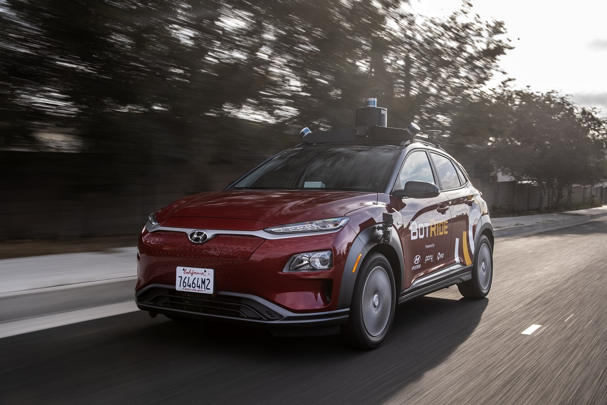 Hyundai to Launch a Free Autonomous Taxi Service in California