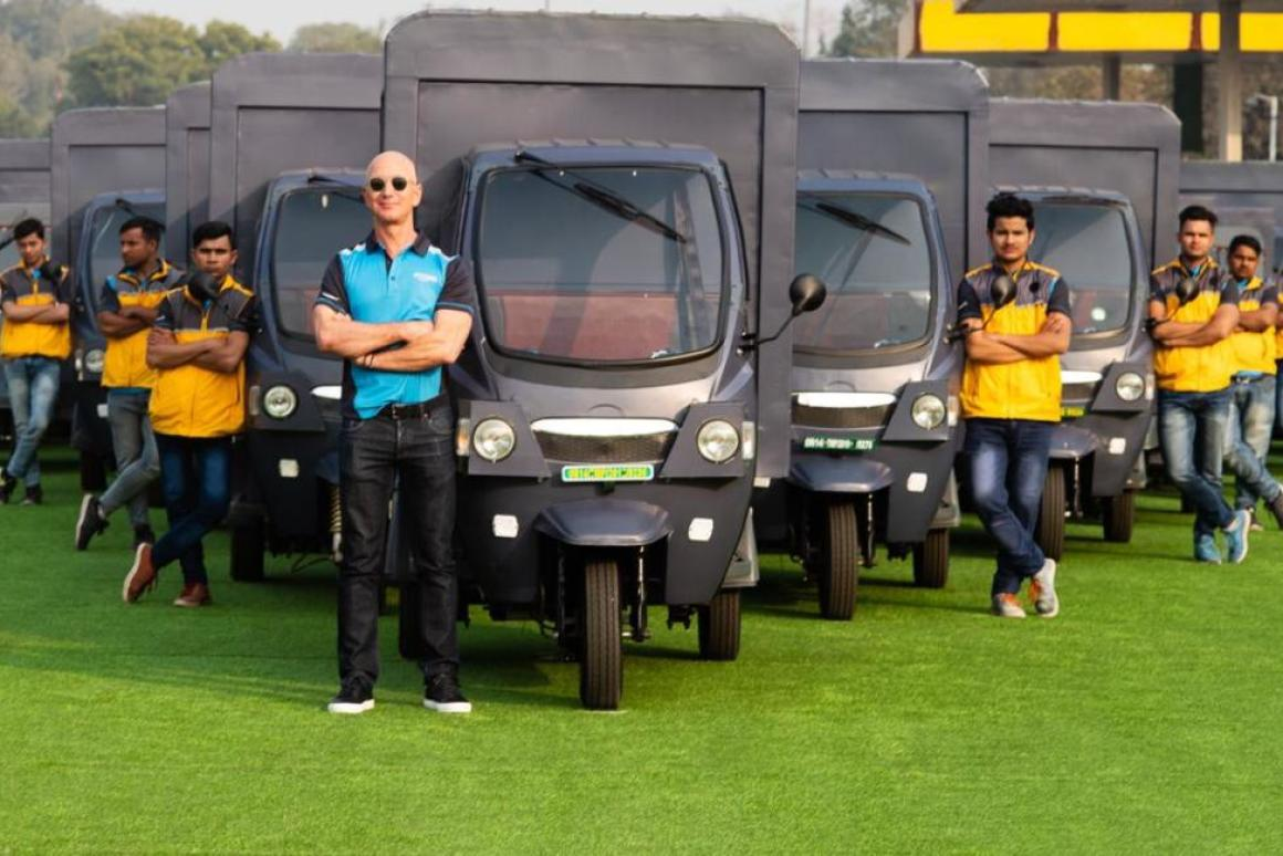 Amazon to Add 10,000 Electric Rickshaws in India By 2025