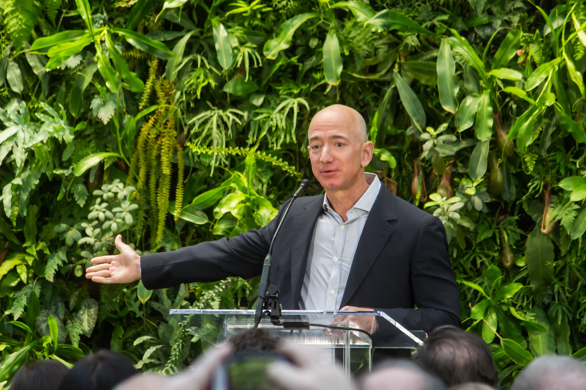 Jeff Bezos Will Fight Climate Change by Investing $10 Billion