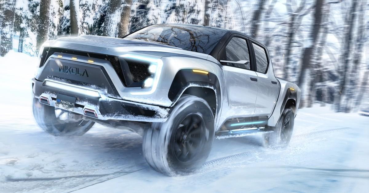 Nikola Unveils Electric Pickup Truck With 600-Mile Range