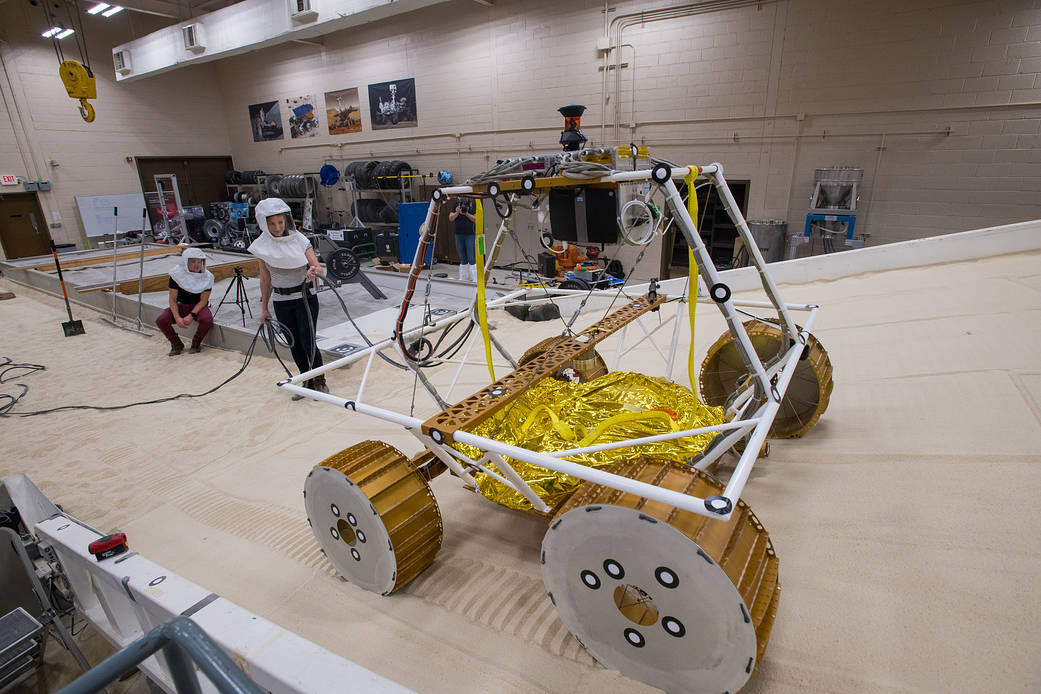 NASA Started Testing its Next Moon Rover