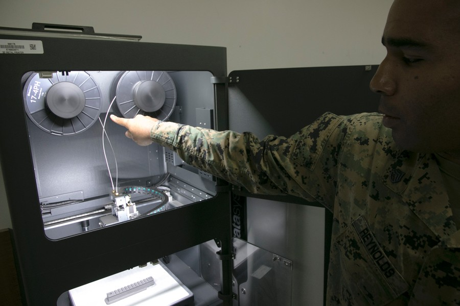 "Metal 3D Printer ""Metal X"" now Deployed in a U.S. Military Base"