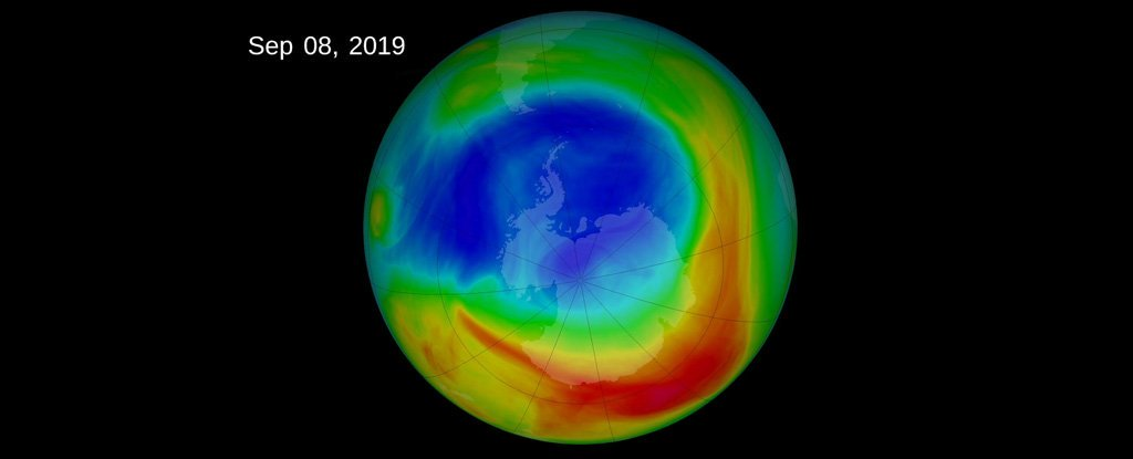 Ozone layer is finally healing itself!