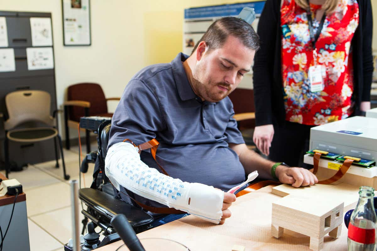 Brain Implant Restores Movement and Sense of Touch in Man With Paralysis