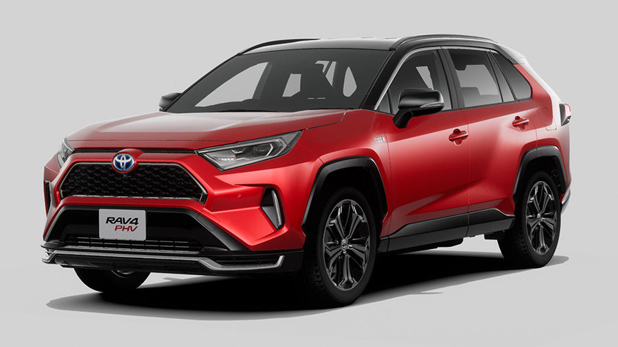 Toyota Starts its Electric Offensive with a RAV4 Prime Plug-In Hybrid