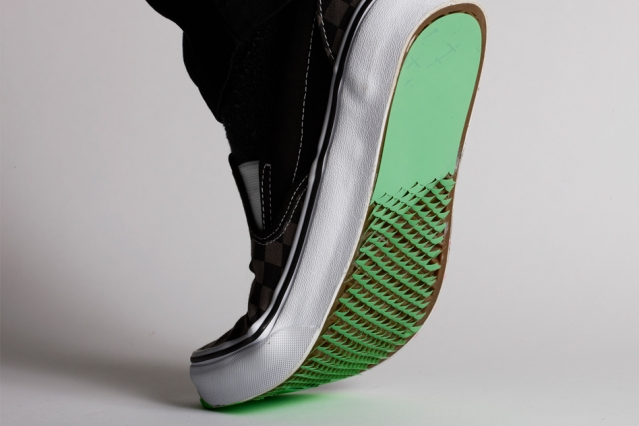 Kirigami-Inspired Shoe Bottom Coatings Could Prevent Falls in Icy or Slippery Conditions