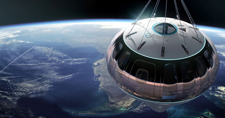 Space Tourism Startup Will Allow You To Take A Tour Around The Earth For $125,000