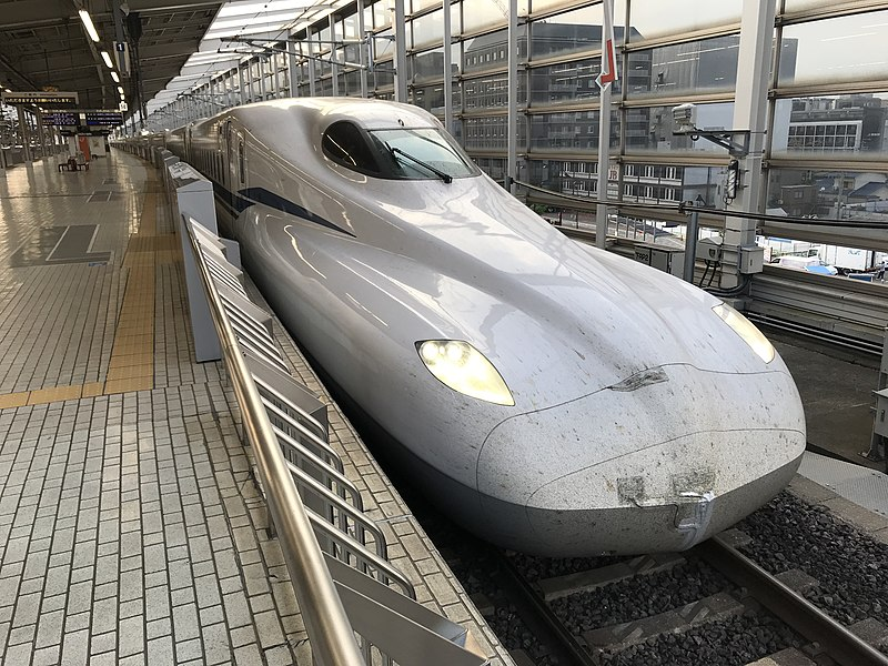 Japan's Bullet Train That Can Run During an Earthquake