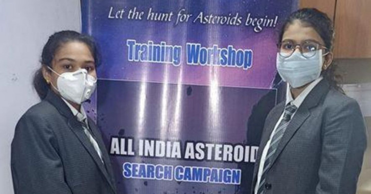 Indian School Girls Discover a New Asteroid Making Way to Earth