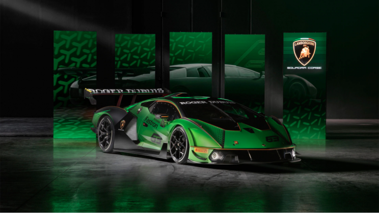 Lamborghini Unveils Limited-Edition, Essenza SCV12 Hypercar Which Is Illegal To Drive on the Highway