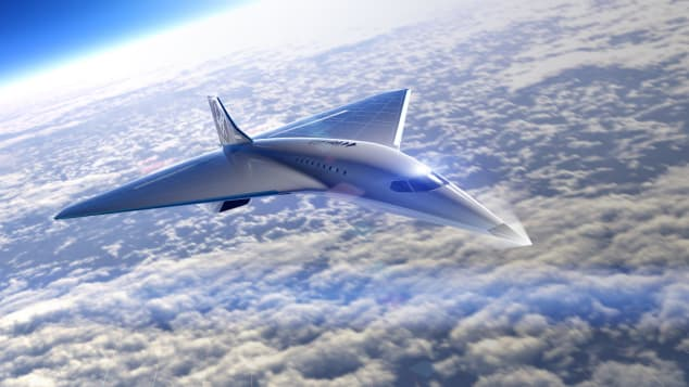 Virgin Galactic's New Supersonic Jet Would Fly Three Times Speed of Sound