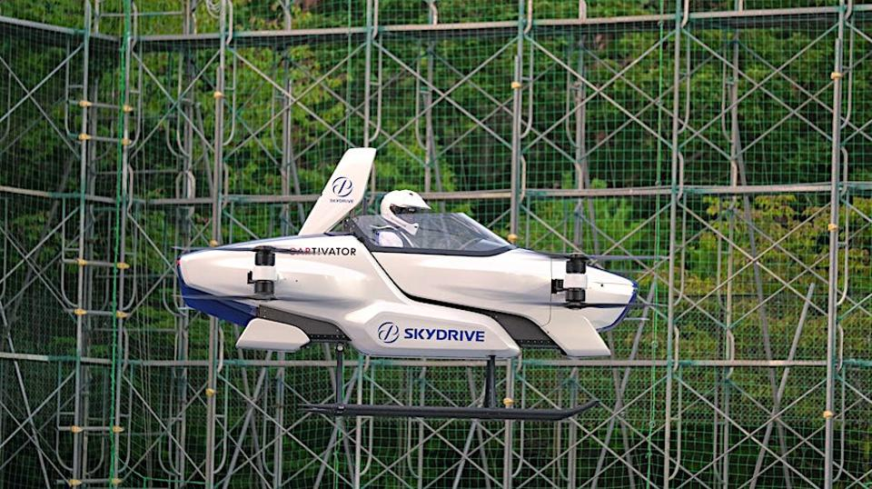 Japan's Flying Car Successfully Carries out First Manned Test Flight