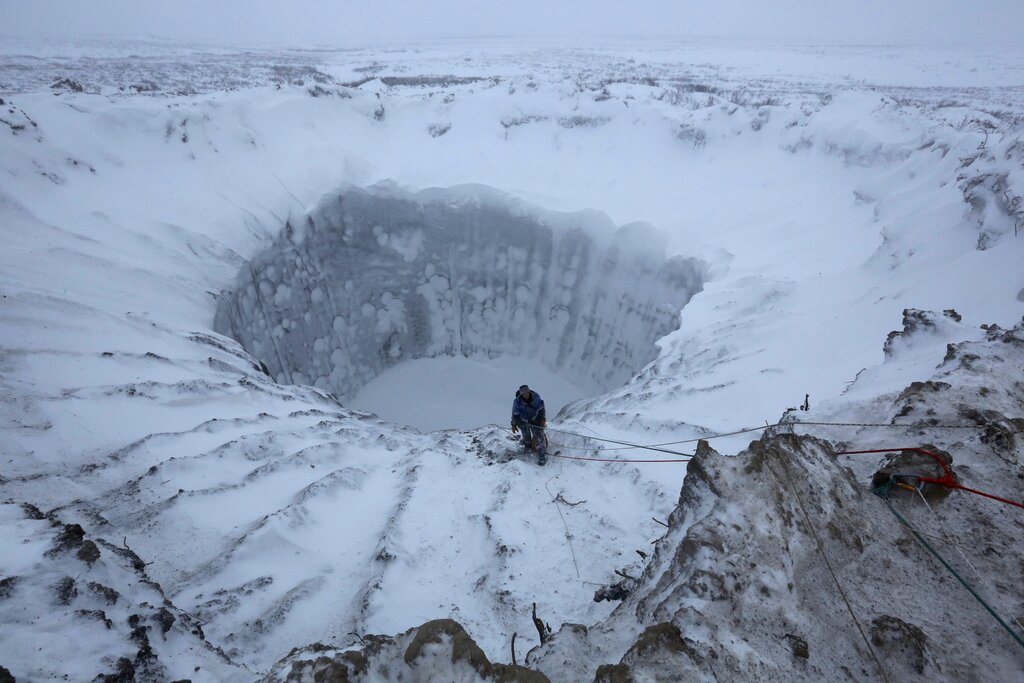 Explosion In Russian Arctic Goes Off Like A Bottle Of Champagne