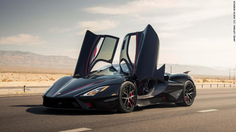 SSC's Tuatara Is the Fastest Car in the World With 331mph (508 Km/h) Top Speed