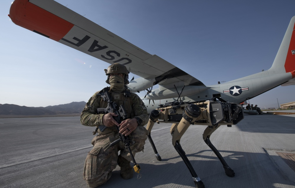U.S. Air Force Looking to Replace Dogs with Robots